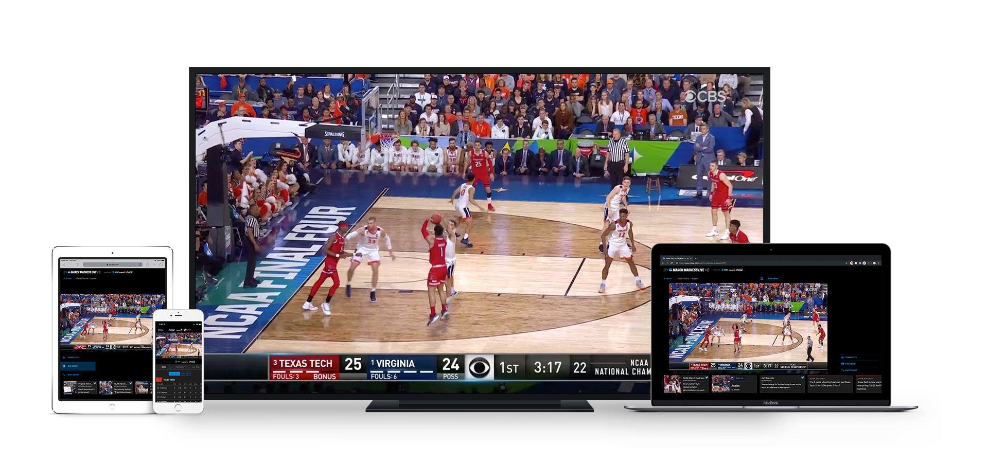 2019 March Madness Live devices